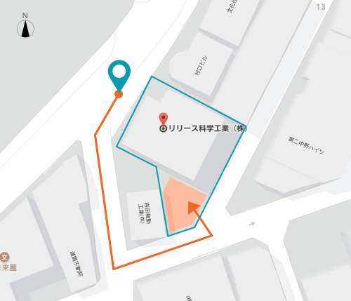 Parking Area Map